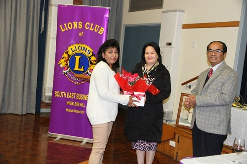 Lions Club South East Business Inc Contribution