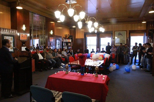 Memorial Service on the 1st Anniversary of Nepal Earthquake