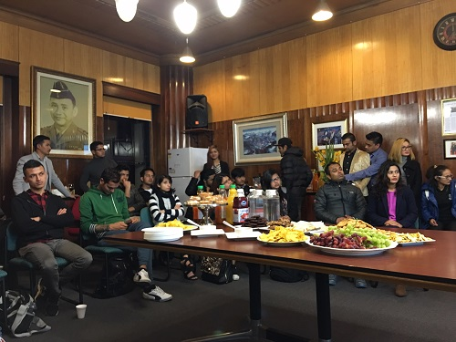 Nepalese Actors visit Consulate Office