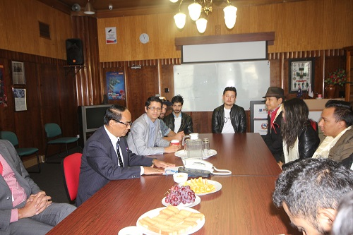 Nepalese Artists visit Consulate Office